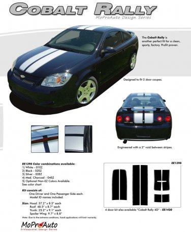COBALT RALLY : Racing Stripe Kit for Chevy Cobalt or Pontiac G5