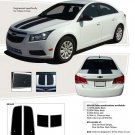 CRUZIN : Chevy Cruze 2011-2013 Vinyl Graphics and Decals