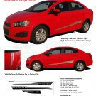 BOOM : Chevy Sonic 2012 2013 2014 Vinyl Graphics and Decals