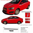 SWEEP : Chevy Sonic 2012 2013 2014 Vinyl Graphics and Decals