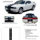 RALLY : Vinyl Graphics Racing Stripes Kit 2008 2009 2010 2011 2012 2013 Dodge Challenger