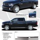 RAM HUSTLE : 2009 2010 2011 2012 2013 Dodge Ram Hood Spears and Side Stripes Vinyl Graphics Kit