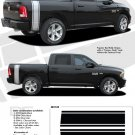 RAM RUMBLE STRIPES : 2009 2010 2011 2012 2013 Dodge Ram Bed Stripes Vinyl Graphics Kit