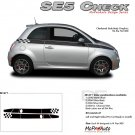 SE 5 CHECK : 2011 2012 2013 Fiat 500 Vinyl Graphics Kit