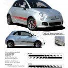 SE 5 ROCKER STROBES : 2011 2012 2013 Fiat 500 Vinyl Graphics Kit