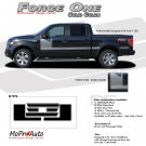 FORCE ONE (Solid) : Ford F-150 Hockey Stripe Vinyl Graphics Decals 2009 2010 2011 2012 2013 Models