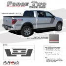 FORCE TWO Screen : Ford F-150 Hockey Stripe Vinyl Graphics Decals 2009 2010 2011 2012 2013 Models