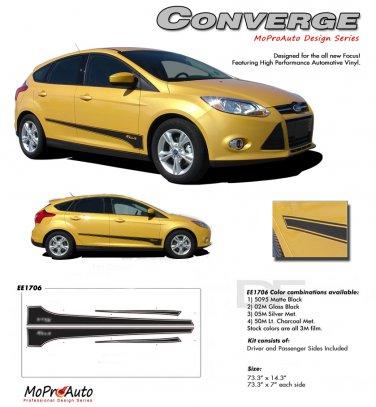 CONVERGE : 2012 2013 Ford Focus Vinyl Graphics Kit