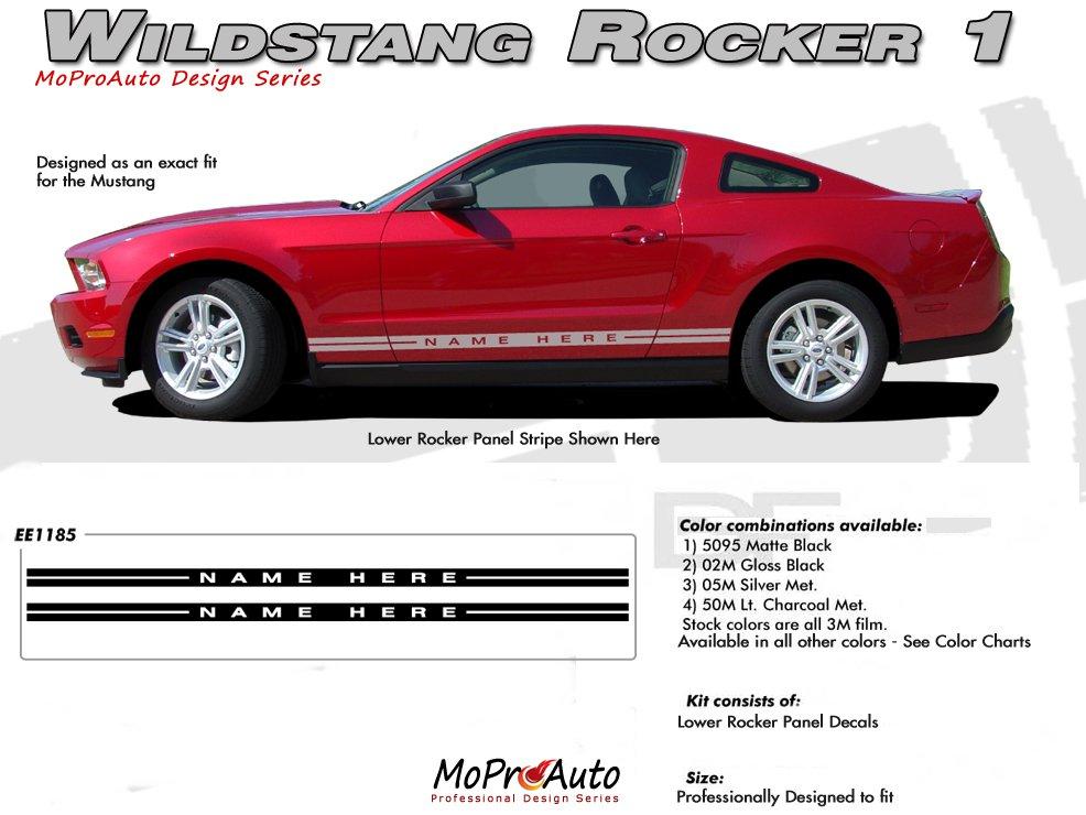 Mustang Wildstang Rocker 1 2005 2014 Ford Mustang Rocker