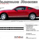 Mustang WILDSTANG ROCKER 1 : 2005-2014 Ford Mustang Rocker Panel Stripes