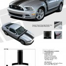 "PRIME 1 : 2013-2014 Ford Mustang ""BOSS 302"" Style Vinyl Graphics Kit"