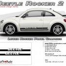BEETLE ROCKER 2 : Lower Rocker Panel Vinyl Graphics Kit for 1998-2013 Volkswagen Beetle