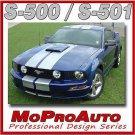 Mustang GT Racing Rally Stripes Decals - 3M Pro Vinyl Graphics 2006 213