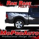 2016 Dodge Ram RAGE Multi-Color Truck Bed 3M Vinyl Graphics Decals Stripes M26