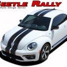 2012-2017 Volkswagen Beetle Rally Hood Roof Bumper OE Vinyl Decal Stripe Graphic