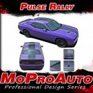PULSE RALLY 2008-2016 Challenger Racing Stripe 3M Pro Vinyl Graphic Hood Decal