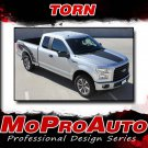 2017 TORN Ford F-150 Side Truck Bed 4X4 Mudslinger Vinyl Graphic Stripe 3M Decal