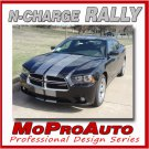 2011 Dodge CHARGER RALLY / Racing Stripes Decals Graphics Pro Grade 3M Vinyl 466