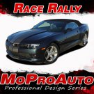 RACE RALLY Camaro 2015 3M Pro Vinyl Graphics Rally Racing Stripes Decals SS RS 6
