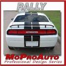 2009 CHALLENGER RALLY - 3M Pro Vinyl Racing Stripe Decal Spoiler 3M * 670
