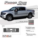 2009 F-150 FORCE ONE Screen Print Side Hockey Decals Stripes Vinyl Graphics 40R