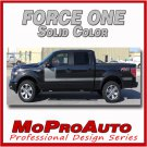 2013 F-150 FORCE ONE Solid Color Side Hockey Decals Stripes Vinyl Graphics 023