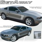 2010-2014 Ford Mustang GT GETAWAY Decals Stripe Graphic 3M Pro Vinyl Kit PDS1606