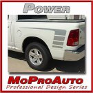 Dodge Ram Bed Side Graphics Decals - 3M Pro Vinyl Stripes 2012 484