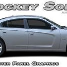 Solid Long Hockey Quarter Panel Side Stripe Decal 3M Graphic 2011-2014 Charger