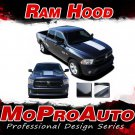 2013 Dodge Ram Factory Style Hood 3M Pro Vinyl Graphics Decals Stripes D10