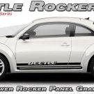 Volkswagen Beetle 1998-2016 ROCKER 2 Lower Panel Vinyl Decals Stripes Graphic B3