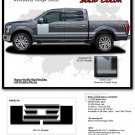 2015-2018 Ford F-150 Truck FORCE 1 SOLID Stripe Decals 3M Vinyl Graphics PD3516