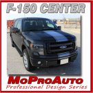 2009-2014 Ford F-150 Truck 150 CENTER STRIPE Decals Graphic 3M Pro Series PD1974