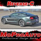 2015-2017 Ford Mustang GT V6 REVERSE Graphics Decals 3M Stripes Vinyl PDS3363