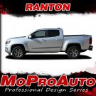 2015-2017 Chevy Colorado Extended & Crew Cab RATON Decal Stripe 3M Pro Vinyl Kit