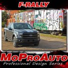 2017-2018 Ford F-150 Split Center Racing Stripes Vinyl Decals F-RALLY 3M Graphic