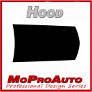 Mustang HOOD SPEARS - 3M Pro Grade BLACKOUT Decal Stripe Graphics 2010 953