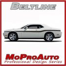 2014-2018 Dodge Challenger BELTLINE Vinyl Side Graphics Stripes Decals 3M Pro