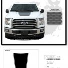 2015-2018 Ford Truck F-150 FORCE HOOD Digital Print Stripe Decals Graphic PD3519