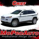 2016 2017 Jeep Cherokee Chief 3M Pro Vinyl Graphics Stripes Decals Lower Rockers