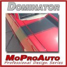 BOSS Ford MUSTANG Hood Side - 3M Pro Grade Stripes Graphic Decals 2010 671
