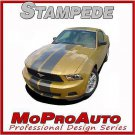 Ford MUSTANG Rally - 3M Pro Vinyl Racing Stripes Decals Graphics 2010 895