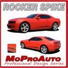 2011 Camaro Lower Door ROCKER SPIKE Side Stripes Graphics Decals - 3M Vinyl 200