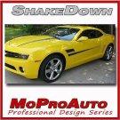 2010 Camaro SHAKEDOWN Stripes Graphics Decals - Pro Grade 3M Vinyl SS RS 429