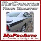2013 RECHARGE QP Dodge Charger Side Stripes Decals Graphics - 3M Pro 208 Vinyl