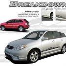 Breakdown Side Rocker Panel Vinyl Graphics Decal Stripes Dodge Ford Chevy Toyota