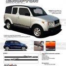 Eruptor Lower Rocker Panel Vinyl Graphic Decal 3M Stripe fits Ford Dodge etc.