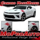 2016-2018 SS Chevy Camaro RS HASHMARKS Decals Stripe 3M Pro Vinyl Kit PD3962