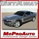GETAWAY Mustang C STRIPE Vinyl Decals Graphics - Pro Grade 3M * * 2012 270