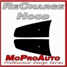 2013 Dodge Charger RECHARGE HOOD Stripes Decals Graphic - 3M Pro 404 Vinyl
